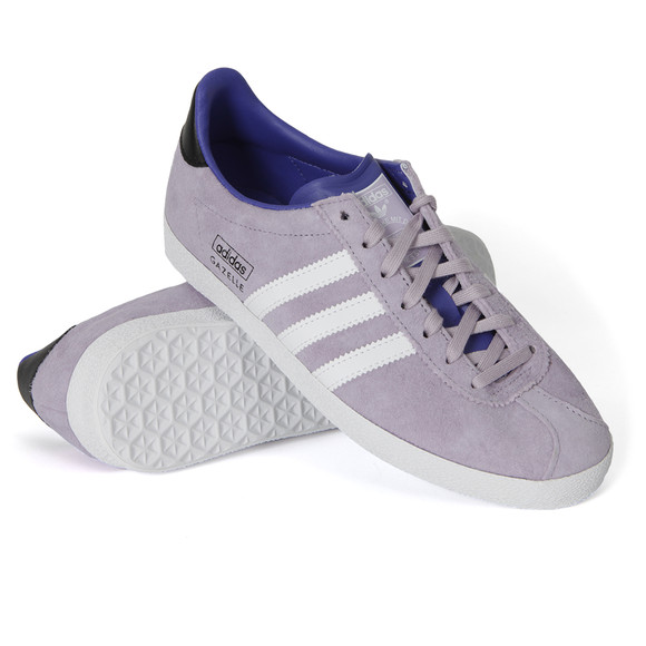 sports shoes 8b33a a3aed adidas Originals Womens Bliss Purple Gazelle OG W Trainer main image