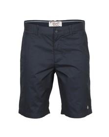 Original Penguin Mens Blue Slim Fit Basic Chino Short
