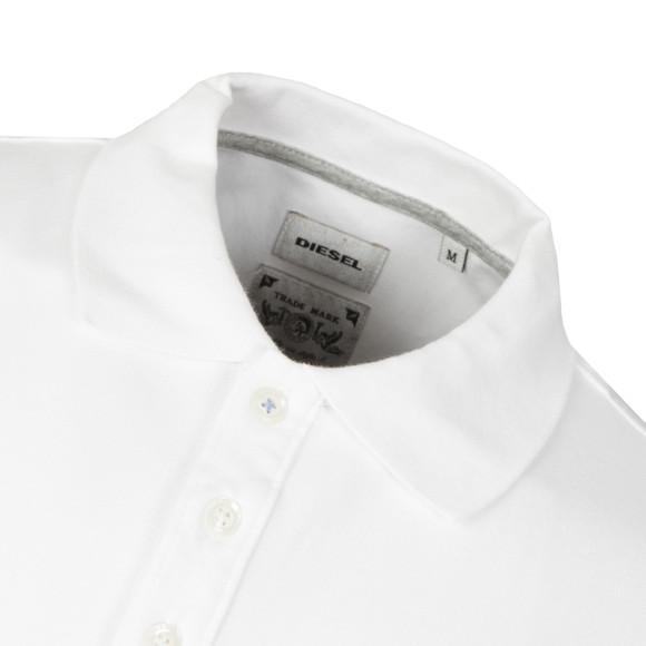 Diesel Mens White Yahei Polo Shirt main image