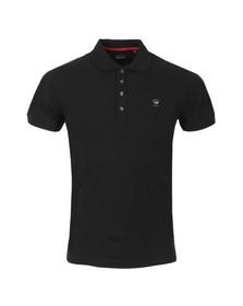 Diesel Mens Black Yahei Polo Shirt