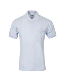 Lacoste Mens Blue PH1981 Ribbed Collar Polo Shirt