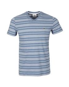 Lacoste Mens Blue TH8124 T-Shirt