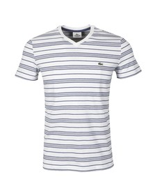 Lacoste Mens White TH8124 T-Shirt