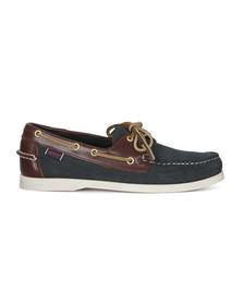 Sebago Mens Blue Spinnaker Boat Shoe