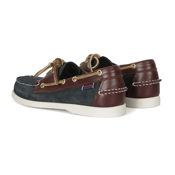 Sebago Mens Blue Spinnaker Boat Shoe main image