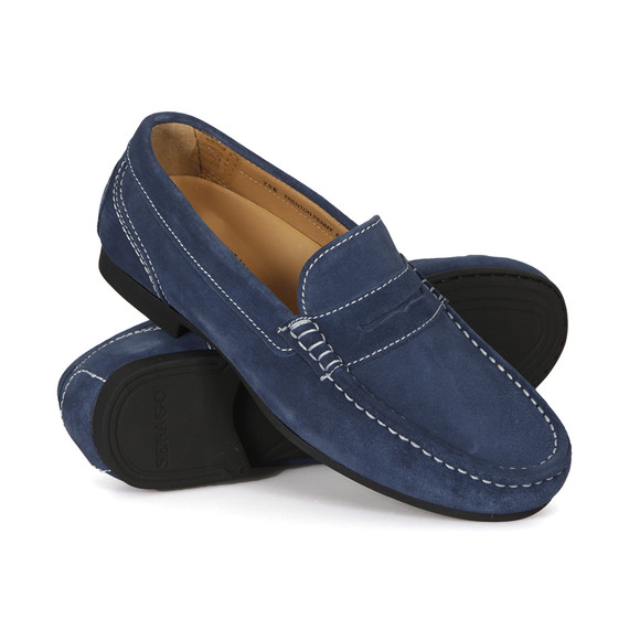Sebago Mens Blue Trenton Penny Loafer main image