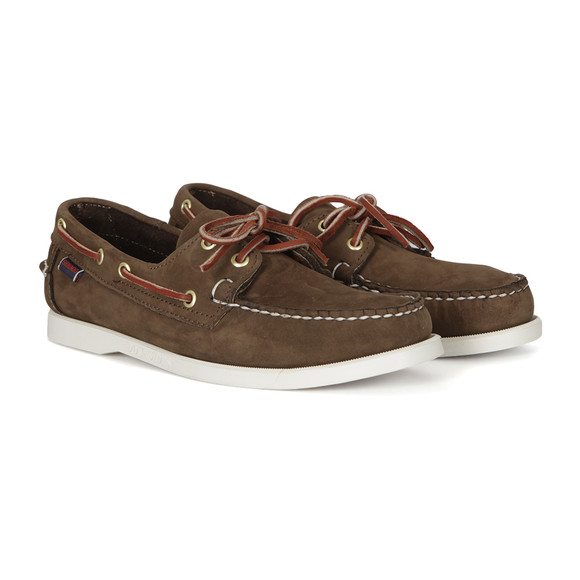 Sebago Mens Brown Dockside Boat Shoe main image