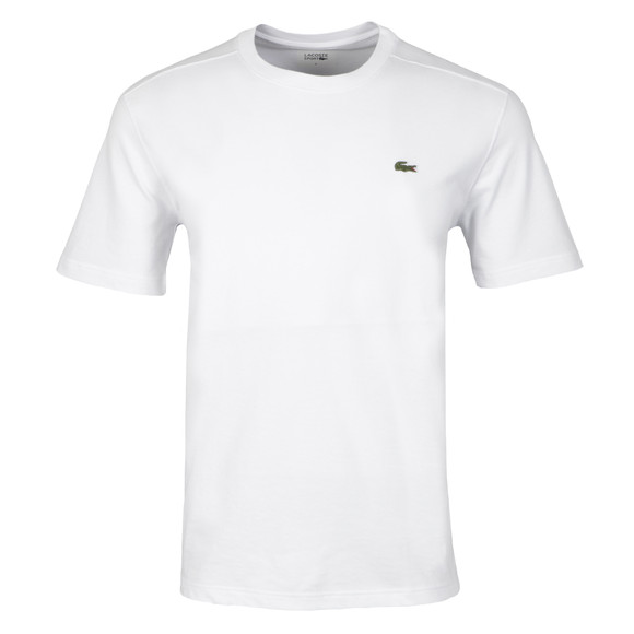 Lacoste Sport Mens White TH7618 Plain T-Shirt