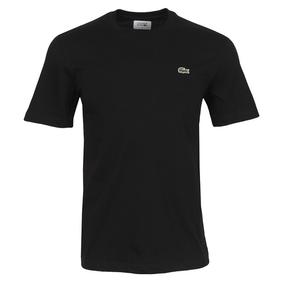 Lacoste Sport Mens Black TH7618 Plain T-Shirt