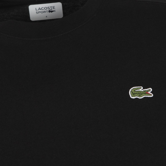 Lacoste Sport Mens Black TH7618 Plain T-Shirt main image