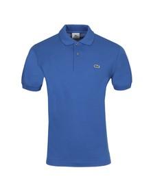 Lacoste Mens Blue L1212 Laser Plain Polo Shirt