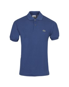 Lacoste Mens Blue L1212 Encrier Plain Polo Shirt