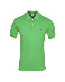 Lacoste Mens Green L1212 Chlorophylle Plain Polo Shirt