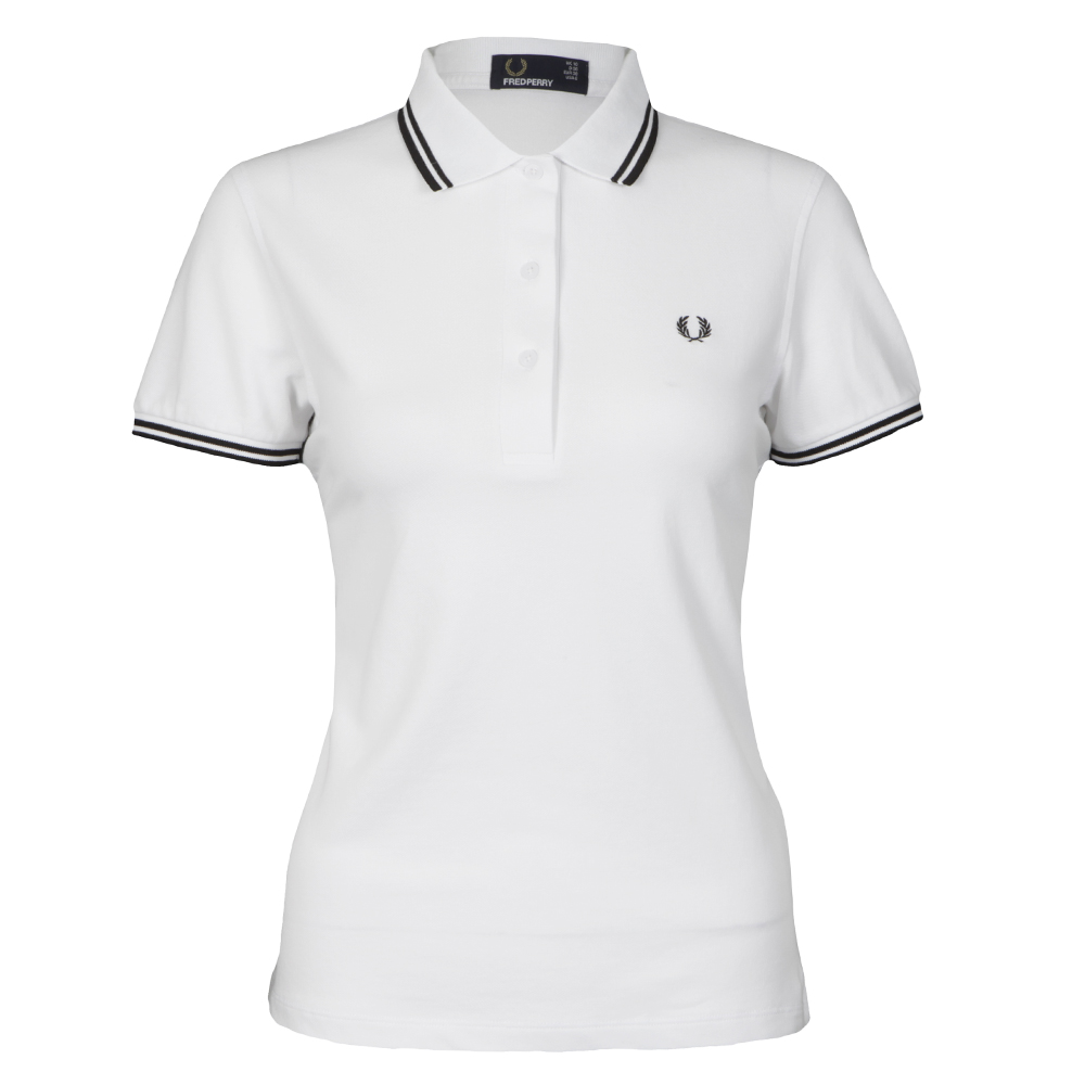 Fred Perry Twin Tipped Polo Shirt | Masdings