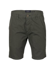 Paul Smith Jeans Mens Green Standard Fit Chino Short