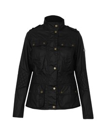 Barbour International Womens Blue Electra Wax Jacket