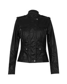 Barbour International Womens Black India Verseys Casual Jacket