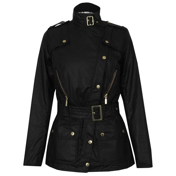 c3d067e3623c7 Womens Black April Wax Jacket