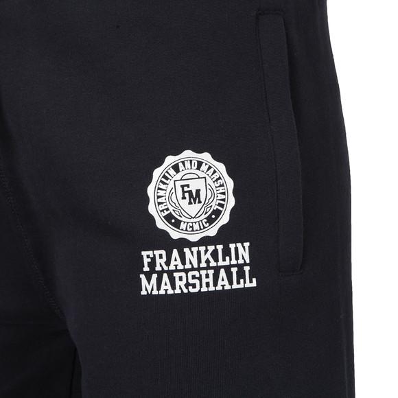 Franklin & Marshall Mens Blue Printed Crest Jogger main image