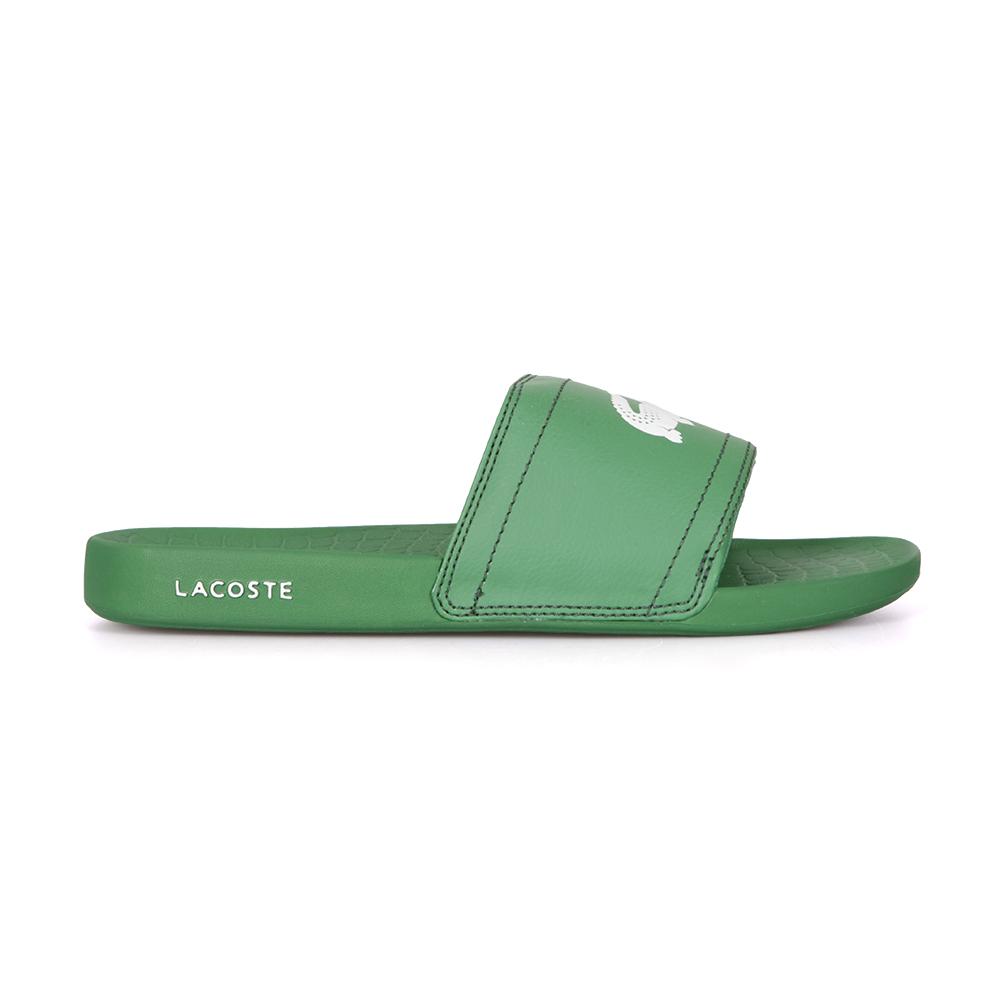 1d0878804cbf0d Lacoste Sport Mens Green Fraisier BRD1 US SPM Flip Flops main image.  Loading zoom