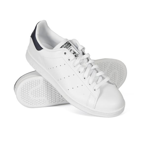 Adidas Originals Mens White Stan Smith Trainer main image