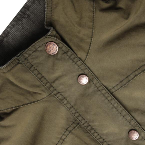 Barbour Heritage Womens Green Wharfe Wax Jacket main image