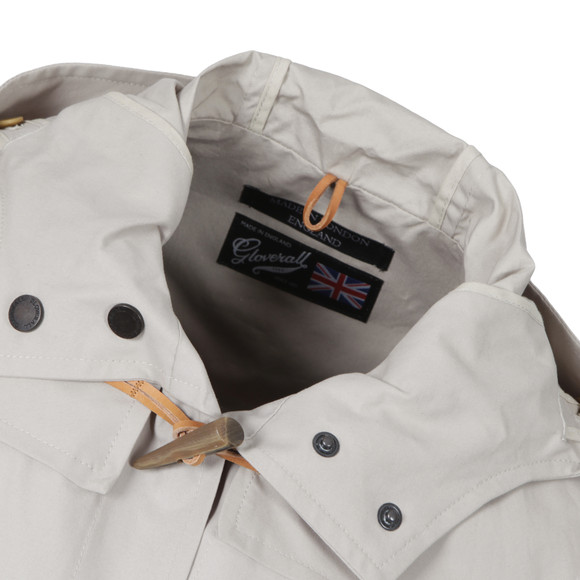 Gloverall Mens Grey Lightweight Mid Monty Duffle Coat main image