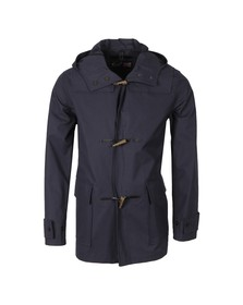 Gloverall Mens Blue Lightweight Mid Monty Duffle Coat