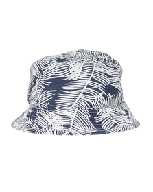Edwin Mens Blue Leaf Bucket Hat