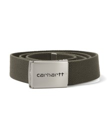 Carhartt Mens Leaf Clip Belt Chrome