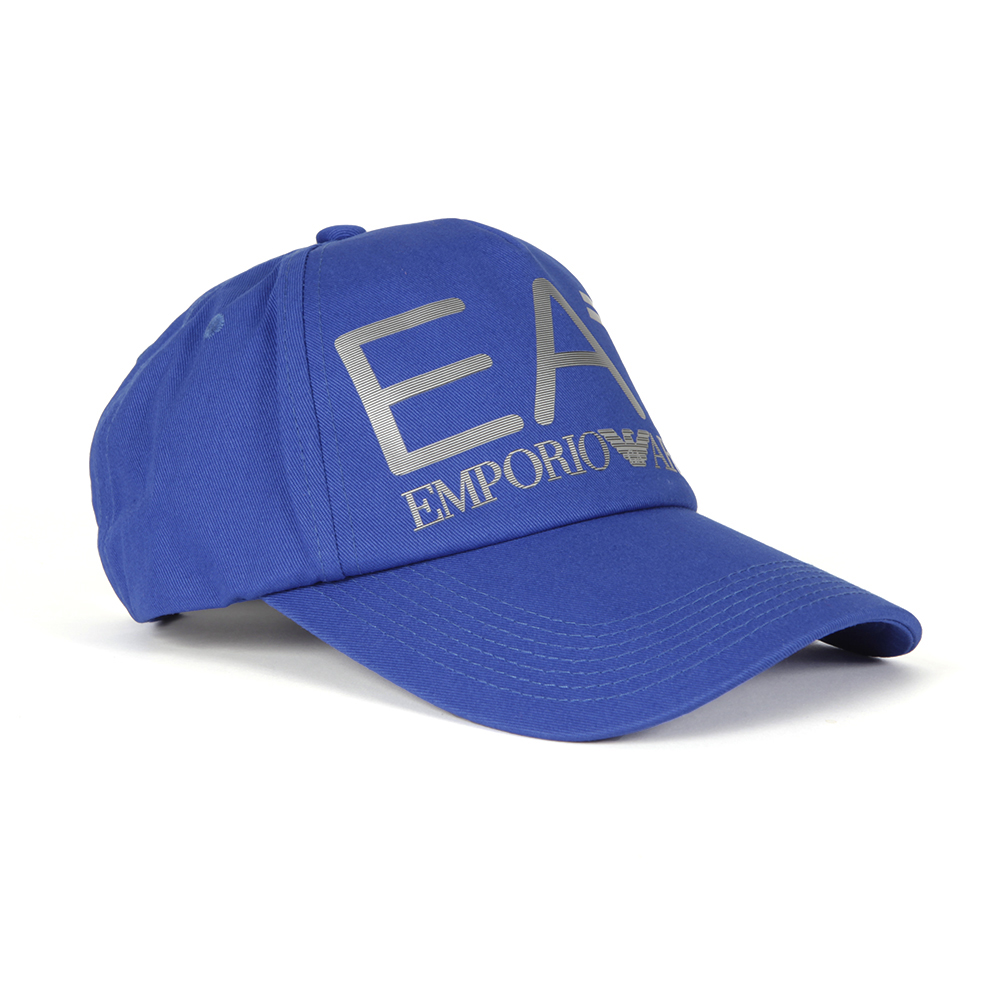 be9ba33e9c6 EA7 Emporio Armani Mens Blue Visibility Baseball Cap