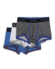 Ted Baker Mens Multicoloured Clayton 3 Pack Boxers