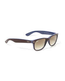 Ray Ban Mens Blue Wayfarer Sunglasses
