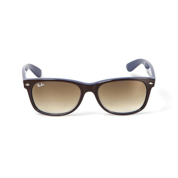 Ray Ban Mens Blue Wayfarer Sunglasses main image