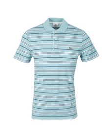 Lacoste Mens Blue PH8264 S/S Polo