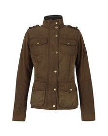 Barbour Heritage Womens Brown Churchill Wax Jacket