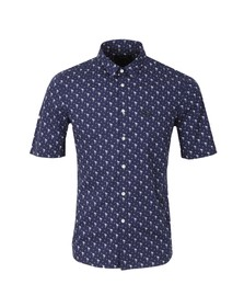 Religion Mens Blue Mingo Shirt