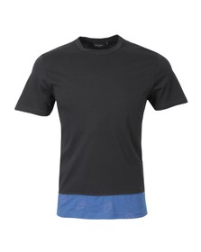 Paul Smith Jeans Mens Blue Cut and Sew T shirt