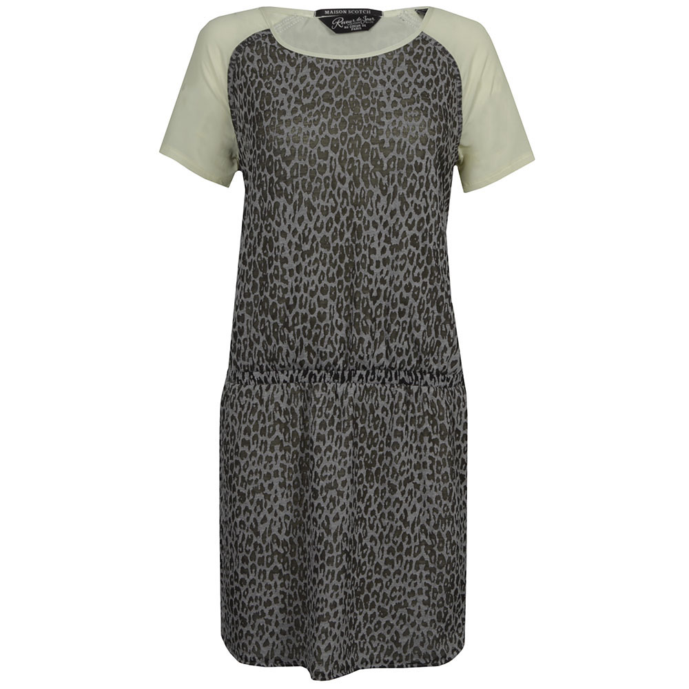 Burnout Jersey and Woven Dress main image