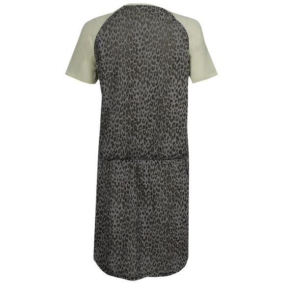 Maison Scotch Womens Grey Burnout Jersey and Woven Dress main image