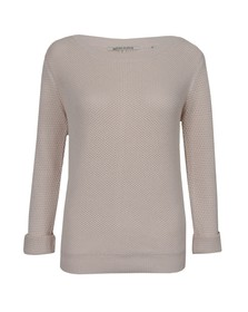Maison Scotch Womens Pink Summer Knit With Eyelet