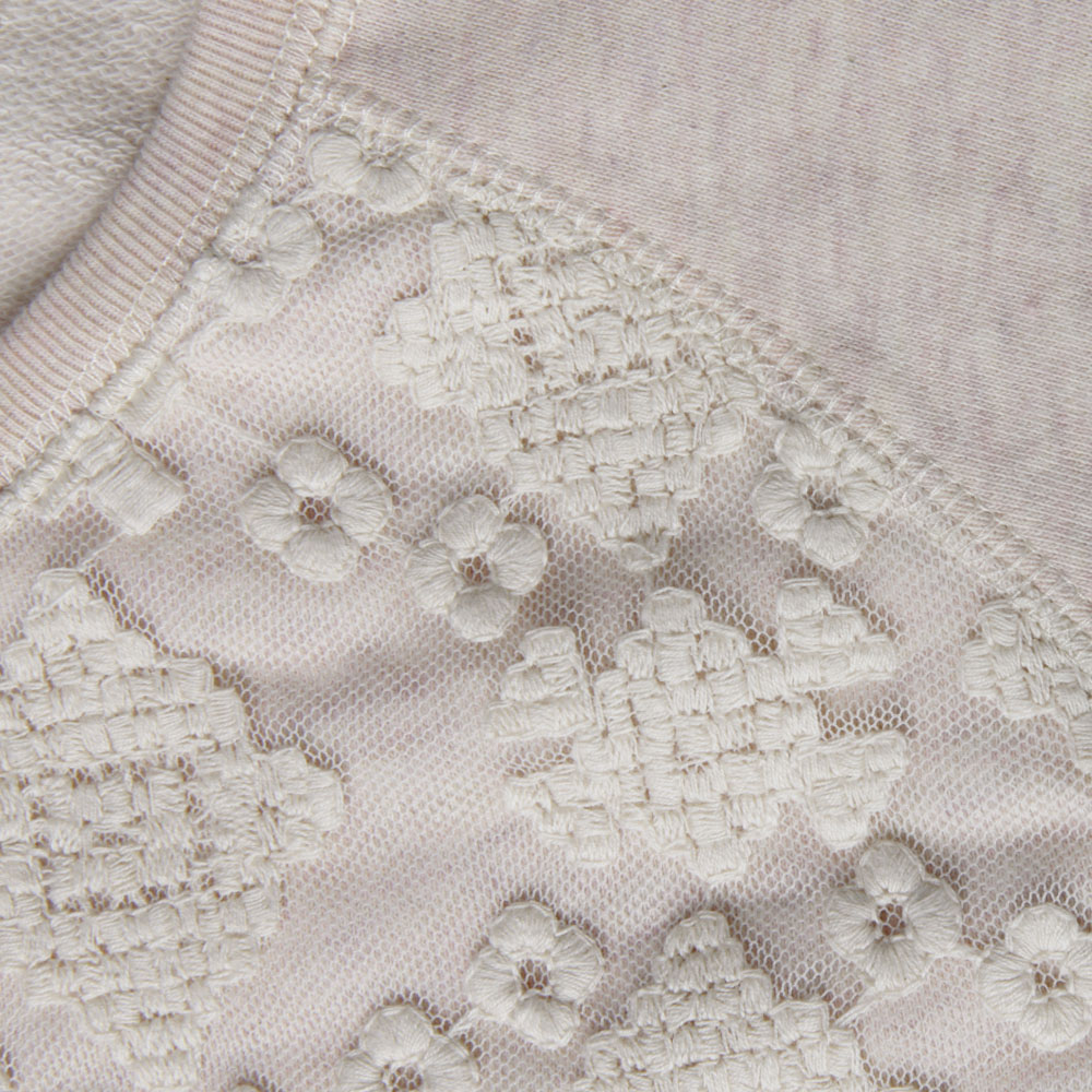 Sweat With Lace Panel main image