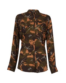 Barbour Heritage Womens Brown Cromwell Camo Shirt