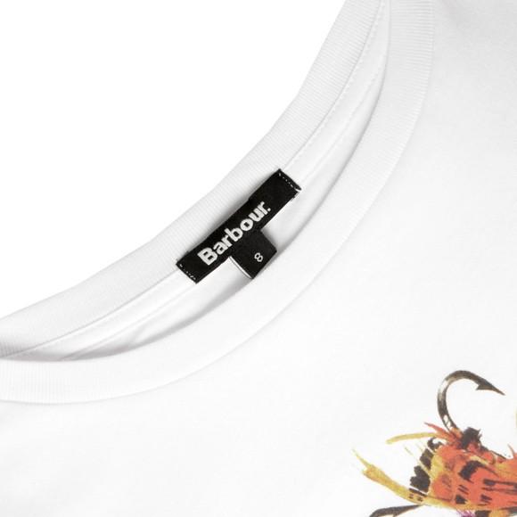 Barbour Heritage Womens White Skirfare T Shirt main image