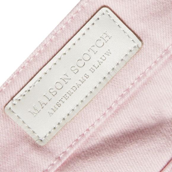 Maison Scotch Womens Pink La Bohemienne Miami Jean main image