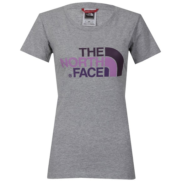 The North Face Womens Grey Easy T Shirt main image