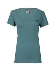 The North Face Womens Green Simple Dome T Shirt