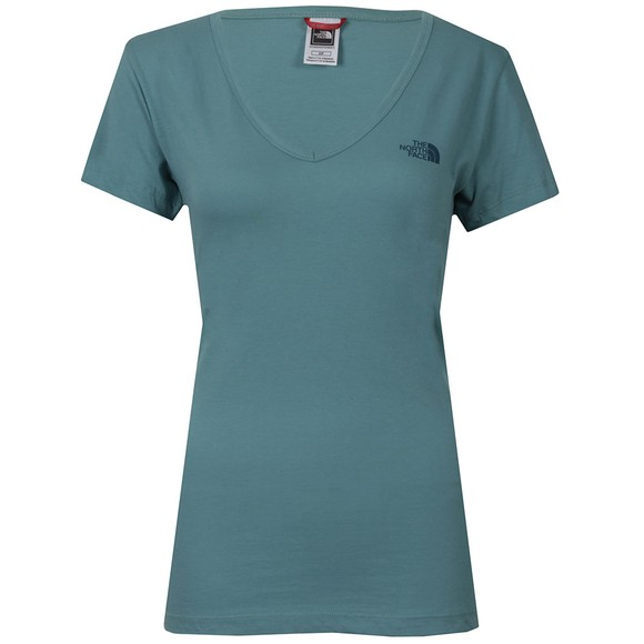 The North Face Womens Green Simple Dome T Shirt main image