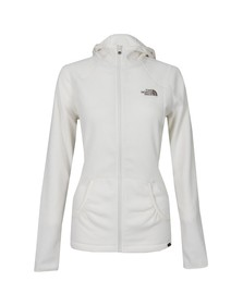 The North Face Womens White 100 Masonic Fleece