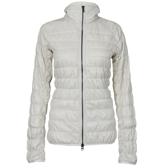 The North Face Womens Beige Mount Steele Insulated Jacket main image